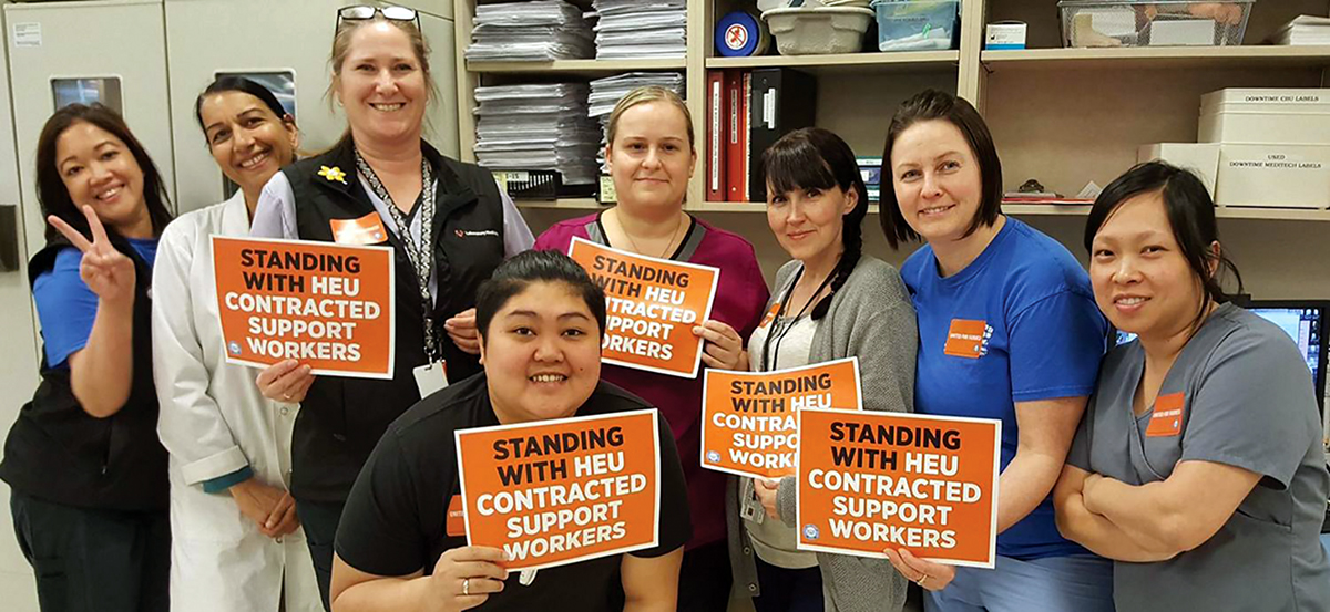 Its Time To End Precarious Work In Bc Hospitals Canadian Union Of