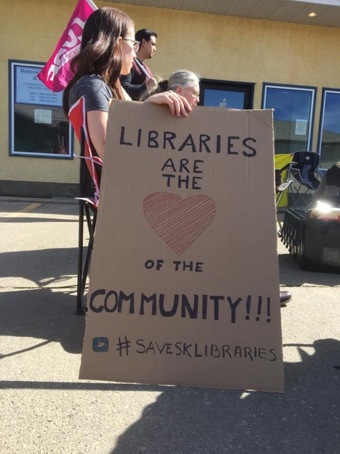 Libraries are the <3 of our communities