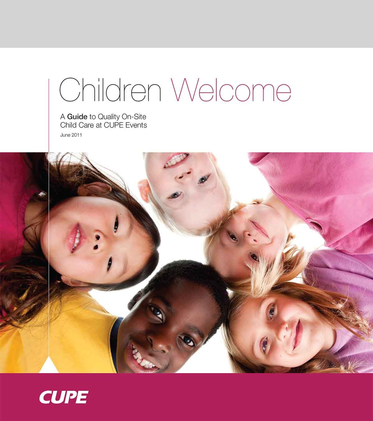 Children welcome guide
