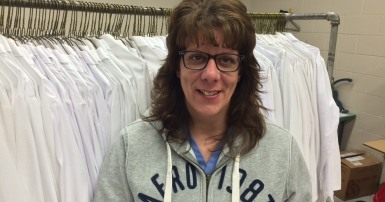 Lana Acorn - North Sask Laundry worker