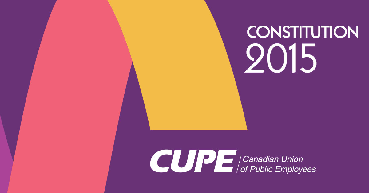 CUPE constitution 2015