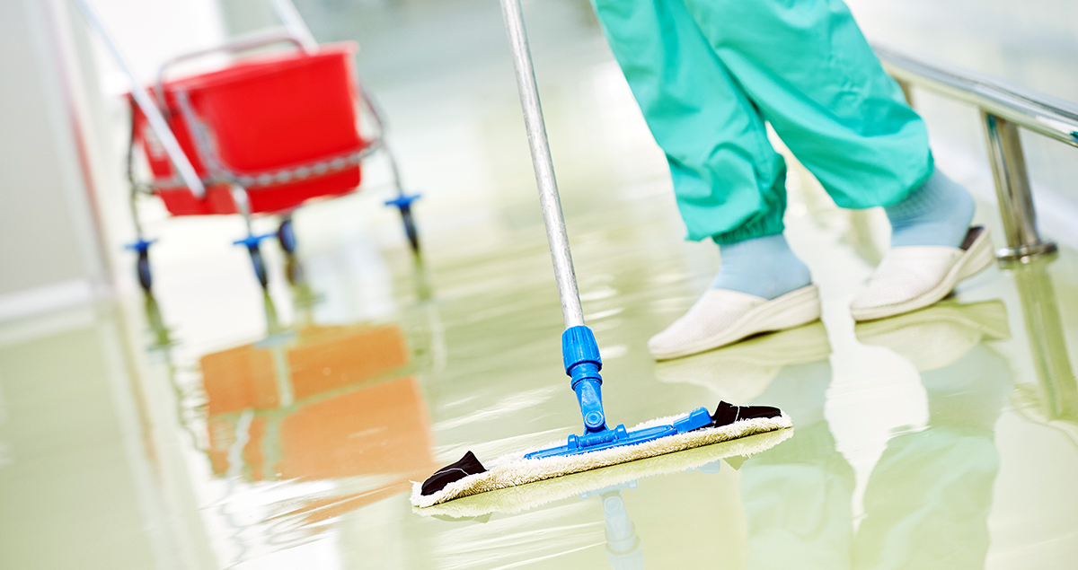 Studies back hospital cleaners' call for increased staffing