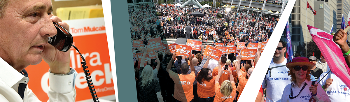 Raising our voices for a better Canada – CUPE's 2015 political action highlights