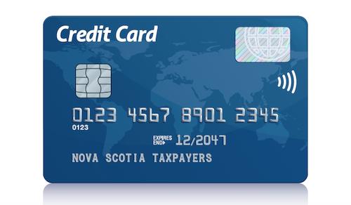Nova Scotia Taxpayers Credit Card