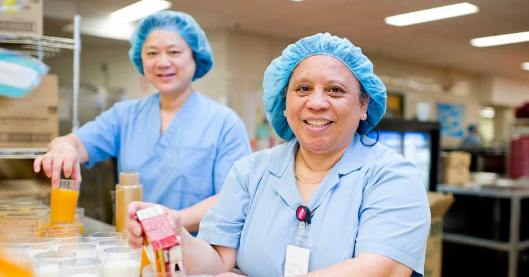 Dietary workers in health care