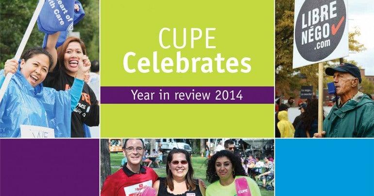 CUPE Celebrates 2015