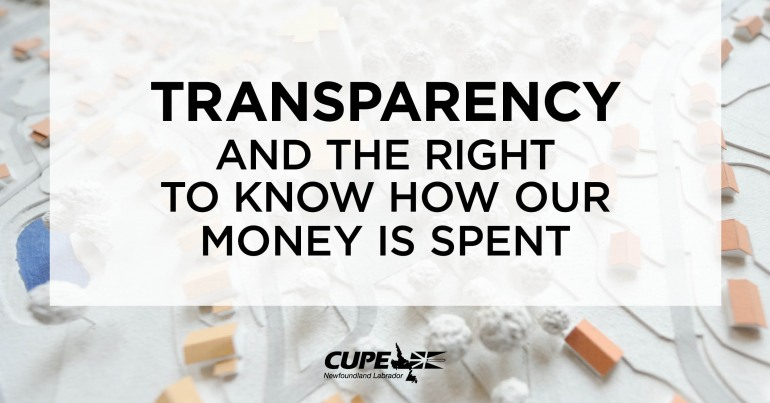 Newfoundland Transparency Privatization