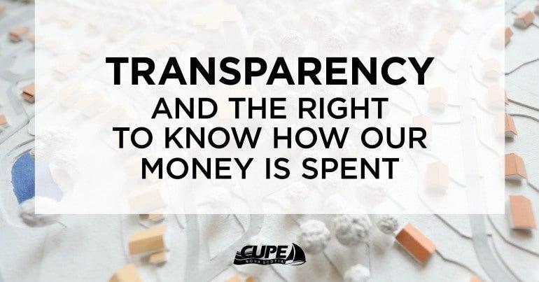 Nova Scotia Transparency Privatization