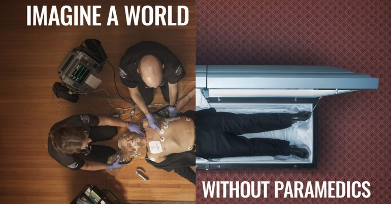 a world without paramedics