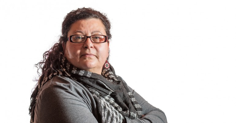 Jodi Gosselin became a health care worker at the beginning of the representative workforce program when there were not many people of Aboriginal descent in Estevan, Saskatchewan.