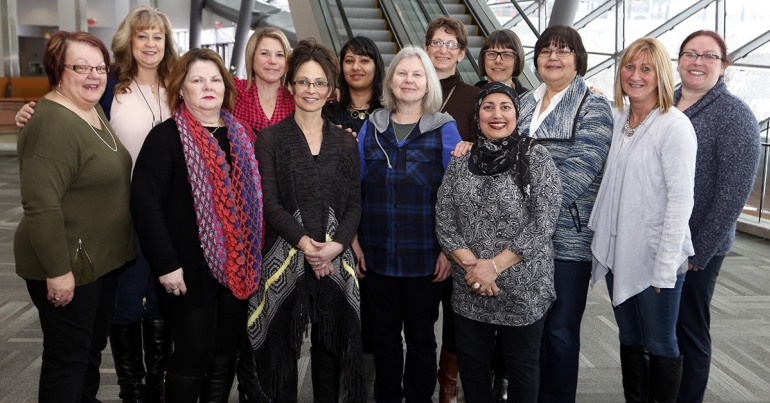 Group photo: National Women's Committee 2016