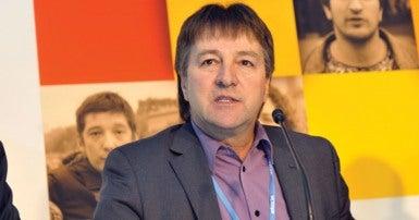 Le secrétaire-trésorier du scfp, charles fleury, à la conférence de L'oNU sur le climat