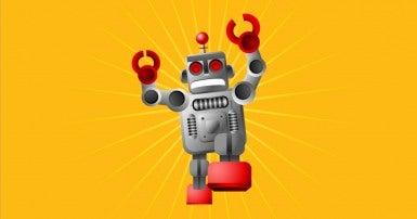 Stampeding robot