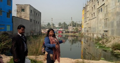 Bangladesh garment factory delegation