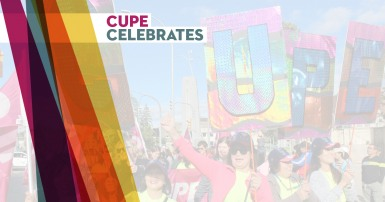 CUPE celebrates new members