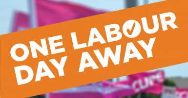 One Labour Day Away
