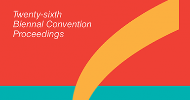 Report: proceedings of the 26th national convention