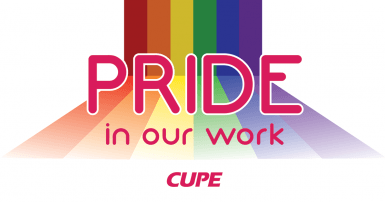 Pride at Work rainbow logo