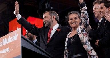 Tom Mulcair becomes NDP leader
