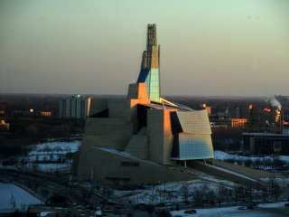 Canadian Human Rights Museum in Winnipeg