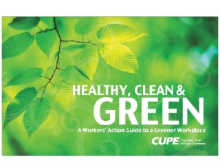 CUPE's green workplace guide