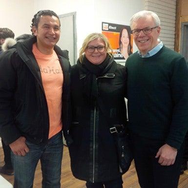 Wab kinew, Kelly Moist and Greg Selinger
