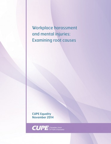 Causes of harassment