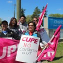 Charleswood Care Centre employees fight for a fair pension