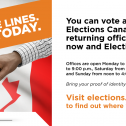 Visit elections.ca to find out where you can vote.