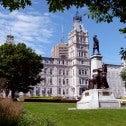 Statue d'Honoré Mercier devant l'Assemblé nationale du Québec
