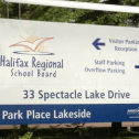 Halifax Regional School Board sign
