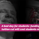 A bad day for students in Ontario